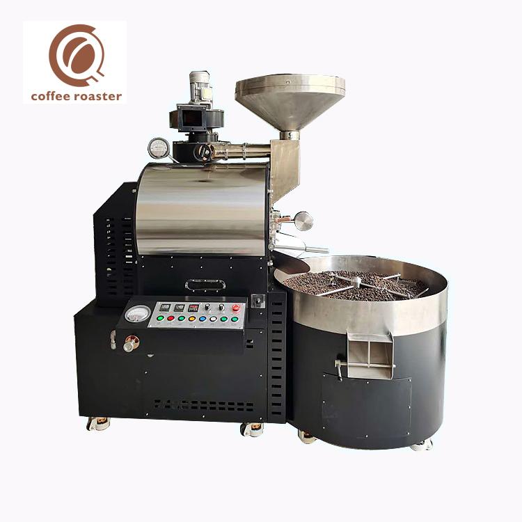 로스팅 머신 커피 15Kg 배치 가스 산업 커피 로스터