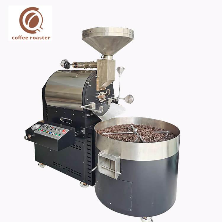 15Kg 다방 기계 상업적인 큰 수용량 코코아 콩 굽기 기계