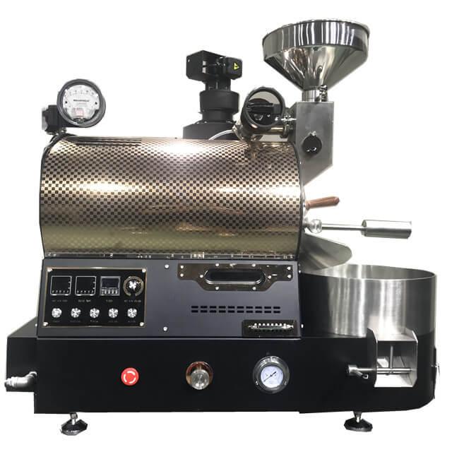2Kg 가스 로스터는 다방을위한 버전 커피 콩 굽기 기계를 업그레이드했습니다