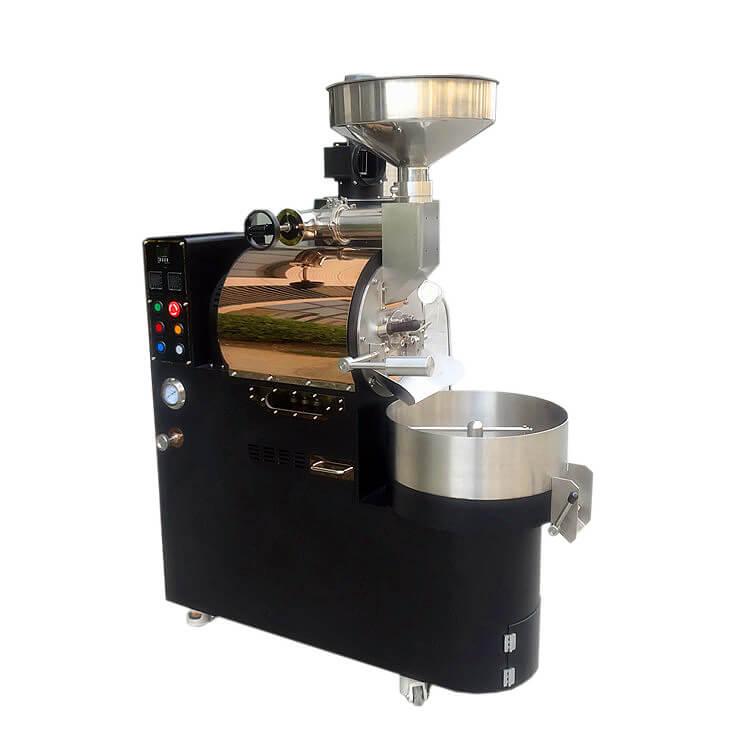 작은 산업 커피 굽기 기계 3Kg 수용량 커피 로스터